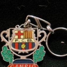 Coleccionismo deportivo: LLAVERO DEL FUTBOL CLUB FC BARCELONA F.C BARÇA CF . Lote 62600248