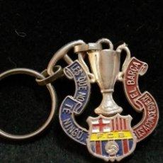 Coleccionismo deportivo: LLAVERO DEL FUTBOL CLUB FC BARCELONA F.C BARÇA CF . Lote 62600352