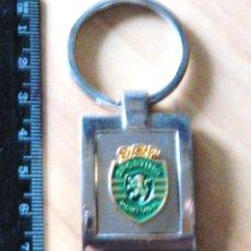 Coleccionismo deportivo: LLAVERO FUTBOL SPORTING CLUB PORTUGAL LISBOA KEYRING KEYCHAIN CHAVEIRO PORTE-CLES N69. Lote 62617700