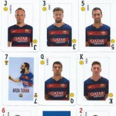 Coleccionismo deportivo: BARAJA ESPAÑOLA FUTBOL CLUB BARCELONA. Lote 180894175