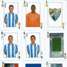 Coleccionismo deportivo: BARAJA ESPAÑOLA MALAGA CLUB DE FUTBOL. Lote 68265069
