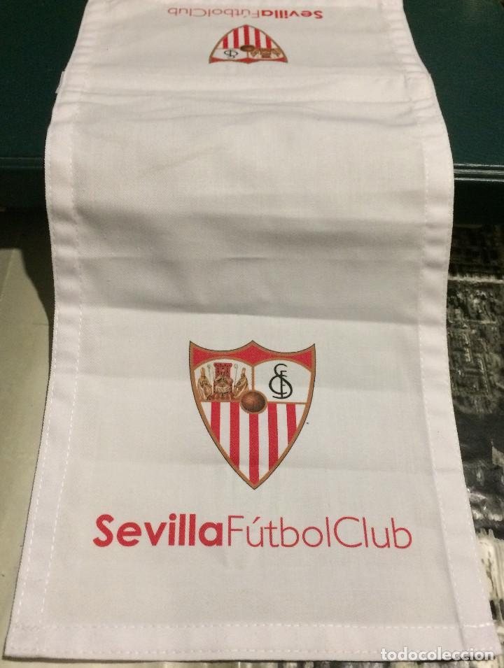 FUNDA DE REPOSACABEZAS DE ASIENTO. AVIÓN OFICIAL DEL SEVILLA FC. NUEVO. (Coleccionismo Deportivo - Merchandising y Mascotas - Futbol)
