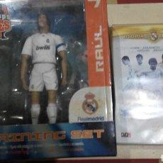 Coleccionismo deportivo: REAL MADRID.FIGURA RAUL+DVD. Lote 64371807