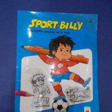 Coleccionismo deportivo: SPORT BILLY MASCOTA OFICIAL DE LA FIFA - EL LAPIZ SORPRESA - EDITORIAL ROMA . Lote 64633847