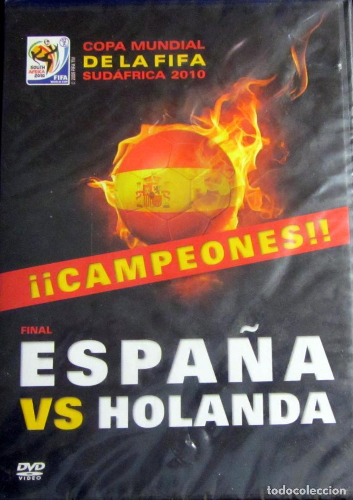 DVD FINAL MUNDIAL FUTBOL 2010 ESPAÑA HOLANDA FIFA WORLD CUP SUDAFRICA (Coleccionismo Deportivo - Merchandising y Mascotas - Futbol)
