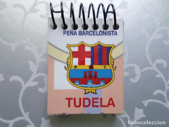 PEÑA BARCELONISTA LIBRETA MINI (Coleccionismo Deportivo - Merchandising y Mascotas - Futbol)