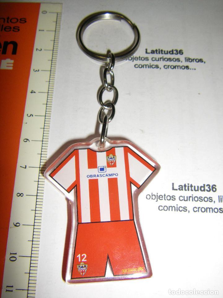 LLAVERO UNIÓN DEPORTIVA ALMERIA (Coleccionismo Deportivo - Merchandising y Mascotas - Futbol)