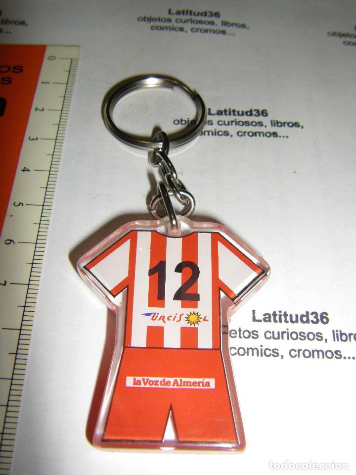 Coleccionismo deportivo: llavero Unión deportiva almeria - Foto 2 - 67042198