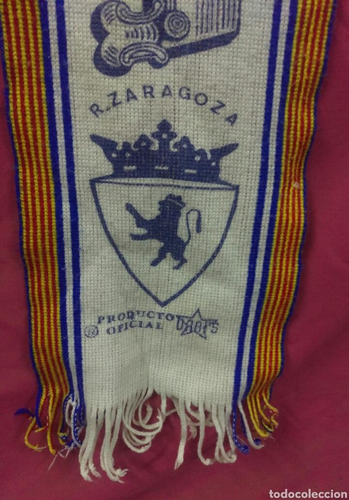 Coleccionismo deportivo: BUFANDA FUTBOL VINTAGE REAL ZARAGOZA.. ALFONSOJO - Foto 2 - 67168009