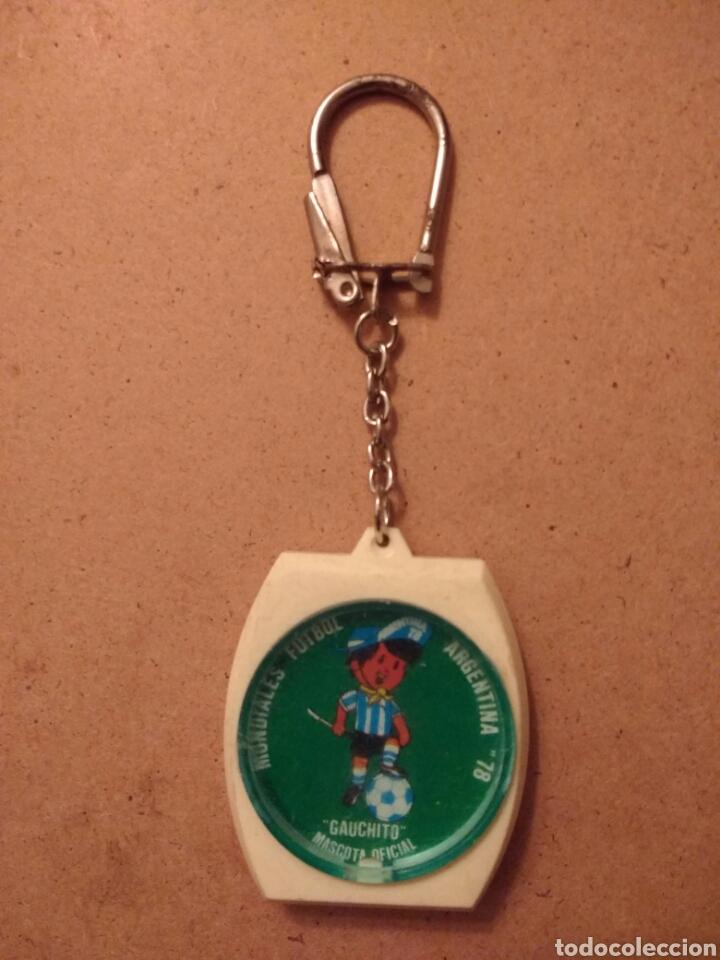 GAUCHITO MASCOTA MUNDIAL '78 ARGENTINA WORLD CUP FÚTBOL LLAVERO (Coleccionismo Deportivo - Merchandising y Mascotas - Futbol)