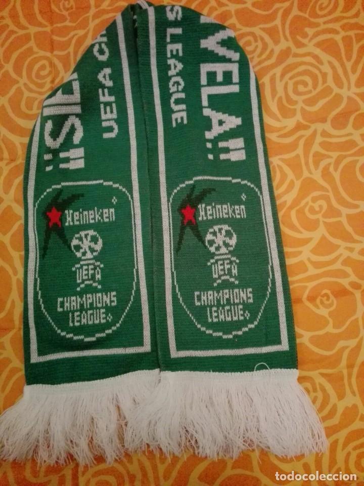 BUFANDA CERVEZA HEINEKEN UEFA CHAMPIONS LEAGUE (A) (Coleccionismo Deportivo - Merchandising y Mascotas - Futbol)