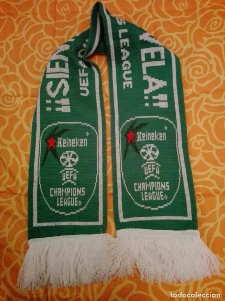 BUFANDA CERVEZA HEINEKEN UEFA CHAMPIONS LEAGUE (B) (Coleccionismo Deportivo - Merchandising y Mascotas - Futbol)