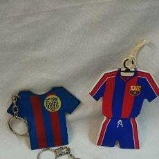 Coleccionismo deportivo: LOTE DE LLAVEROS CAMISETA DEL F.C.BARCELONA. Lote 70115537