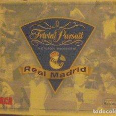 Coleccionismo deportivo: REAL MADRID TRIVIAL PURSUIT - MARCA. Lote 70257661