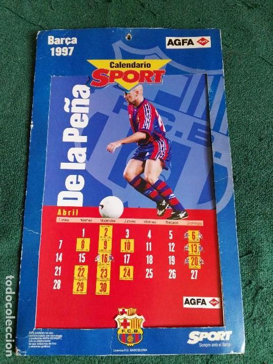 Calendario Del Barca.Calendario Sport Barca Futbol Club Barcelona 1997