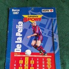 Coleccionismo deportivo: CALENDARIO SPORT - BARÇA FUTBOL CLUB BARCELONA - 1997. Lote 70391893
