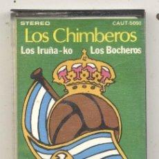 Coleccionismo deportivo: REAL SOCIEDAD TXURI URDIN / LOS CHIMBEROS CASETE FUTBOL SAN SEBASTIAN. Lote 71658223