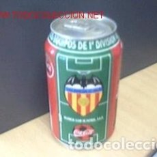 Coleccionismo deportivo - BOTE COCA COLA / EQUIPOS DE FUTBOL/ VALENCIA - 71659687