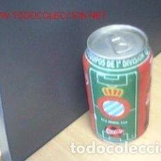 Coleccionismo deportivo - BOTE COCA COLA / EQUIPOS DE FUTBOL / ESPAÑOL - 71661435