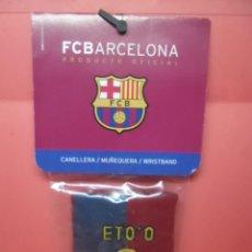 Coleccionismo deportivo: MUÑEQUERA - FCBARCELONA - PRODUCTO OFICIAL - ETO`O - BARÇA. Lote 72046727