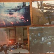 Coleccionismo deportivo: RIAZOR BLUES. LOTE 4 FOTOS 1987. Lote 211415224