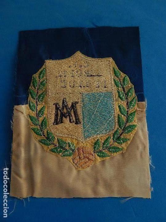 Coleccionismo deportivo: Escudo equipo futbol. C. F. Virgen de Lluc (Lluch). Mallorca. Década de 1970. - Foto 4 - 72824751
