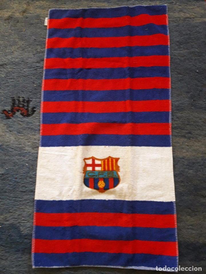 TOALLA DEL CLUB FUTBOL BARCELONA / TOALLAS EL OSO , BARCELONA (Coleccionismo Deportivo - Merchandising y Mascotas - Futbol)