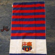 Coleccionismo deportivo: TOALLA DEL CLUB FUTBOL BARCELONA / TOALLAS EL OSO , BARCELONA. Lote 72845767