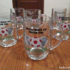 Coleccionismo deportivo: COLECCION JARRA MUNDIAL MEXICO 86 SPORT BILLY. Lote 73681131
