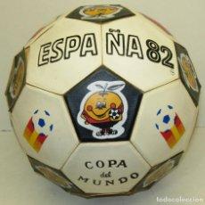 Coleccionismo deportivo: BALÓN ORIGINAL MUNDIAL DE FUTBOL ESPAÑA 82, NARANJITO. Lote 74643875