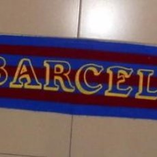 Coleccionismo deportivo: BUFANDA SCARF SCIARPA FUTBOL FC BARCELONA ANTIGUA SERIGRAFIADA VINTAGE FOOTBALL. Lote 84380098