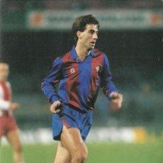 Coleccionismo deportivo: ANTIGUA POSTAL DEL JUGADOR DEL F.C.BARCELONA SALVA TEMPORADA 82. Lote 85101123