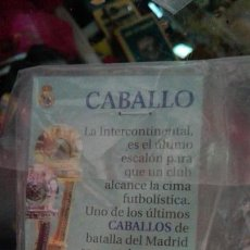 Coleccionismo deportivo: CABALLO REAL MADRID AS. Lote 76256234