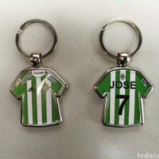Coleccionismo deportivo: LLAVERO FUTBOL BETIS BALOMPIE GORDILLO CARDEÑOSA. Lote 76760113