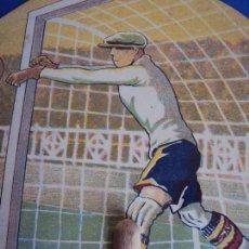 Coleccionismo deportivo: (F-170200)PAI PAI FOOT-BALL IMAGEN DE RICARDO ZAMORA PUBLICIDAD CHOCOLATES JUNCOSA AÑOS 20. Lote 77731905