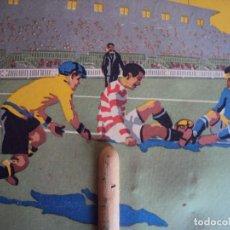Coleccionismo deportivo: (F-170202)PAI PAI ESCENA FOOT-BALL,PUBLICIDAD SOCIEDAD ANONIMA MONEGAL,AÑOS 20. Lote 77732401