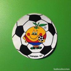 Coleccionismo deportivo: PEGATINA FUTBOL MUNDIAL 82 ESPAÑA (NARANJITO). Lote 78415637