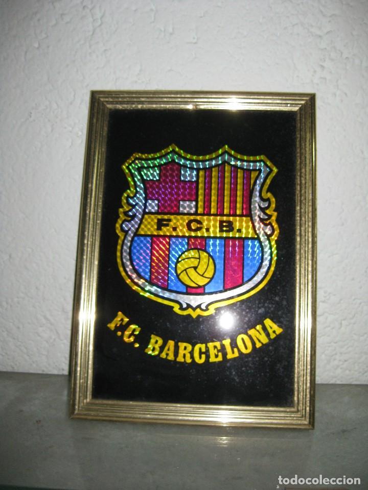 cuadro espejado enmarcado fc barcelona - Comprar Merchandising y ...