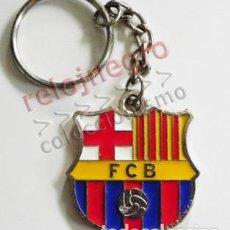Coleccionismo deportivo: LLAVERO DE ESCUDO DEL FÚTBOL CLUB BARCELONA FC - BARÇA - FCB - EQUIPO DEPORTE ESPAÑA CATALUÑA METAL. Lote 122248110
