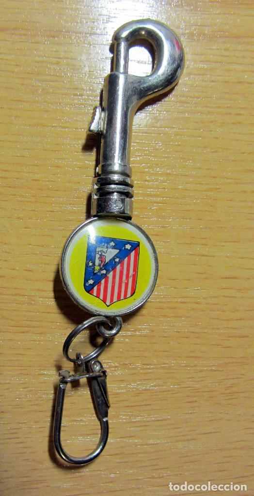 LLAVERO KEYRING FUTBOL MUNDIAL ESPAÑA 1982 NARANJITO FIFA WORLD CUP FOOTBALL SPAIN ATLETICO MADRID (Coleccionismo Deportivo - Merchandising y Mascotas - Futbol)