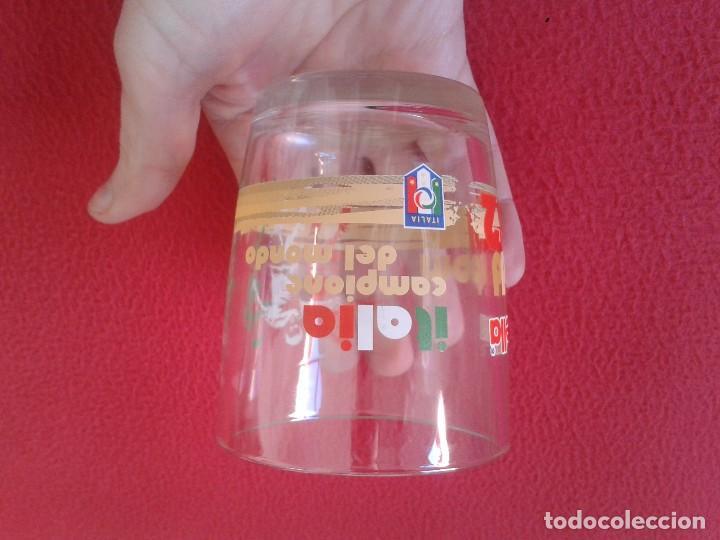 Coleccionismo deportivo: VASO DE CRISTAL NUTELLA ITALIA CAMPIONE CAMPEON DEL MONDO MUNDO MUNDIAL ESPAÑA 82 1982 MADRID FUTBOL - Foto 5 - 81678360