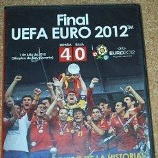 Coleccionismo deportivo: FUTBOL FINAL UEFA EURO 2012 PRECINTADA DE ORIGEN SIN USO.. Lote 107078071