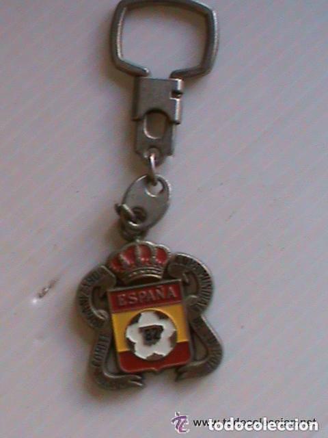 LLAVERO MUNDIAL DE ESPAÑA´82. REAL COMITE ORGANIZADOR COPA MUNDIAL DE FUTBOL. (Coleccionismo Deportivo - Merchandising y Mascotas - Futbol)
