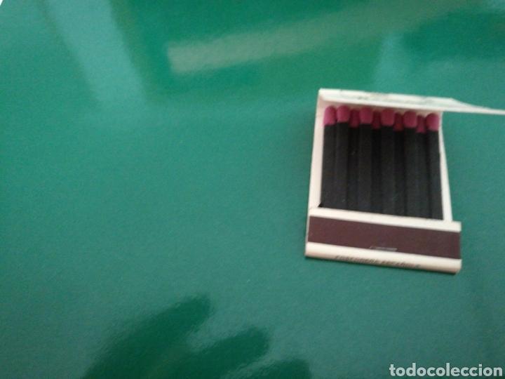 Coleccionismo deportivo: Rara caja de cerillas del Sevilla FC. Publicidad de tabacos Negros. Años 70 - Foto 3 - 83568496
