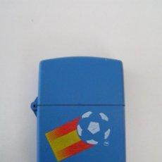 Coleccionismo deportivo: ENCENDEDOR (MECHERO NUEVO ) DE FUTBOL ESPAÑA 82 (MUNDIAL 82) - DE LA CASA TUKO . Lote 84351392