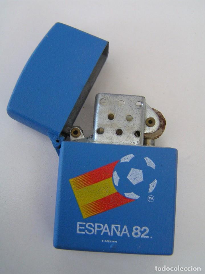 Coleccionismo deportivo: ENCENDEDOR (MECHERO NUEVO ) DE FUTBOL ESPAÑA 82 (MUNDIAL 82) - DE LA CASA TUKO - Foto 2 - 84351392