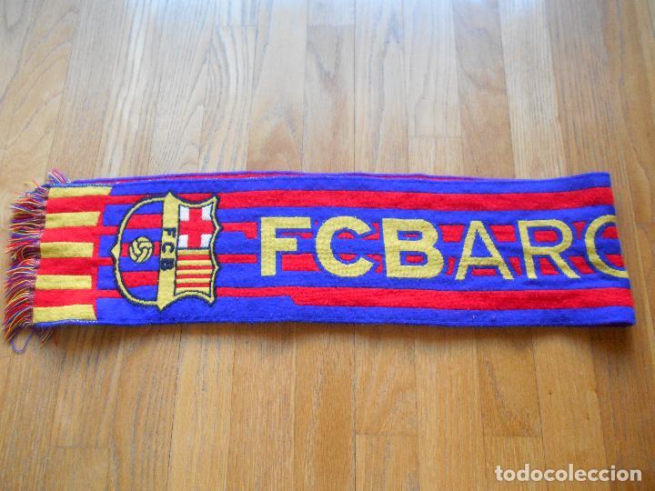 BUFANDA OFICIAL FUTBOL CLUB BARCELONA (Coleccionismo Deportivo - Merchandising y Mascotas - Futbol)