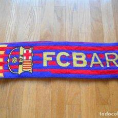 Coleccionismo deportivo: BUFANDA OFICIAL FUTBOL CLUB BARCELONA. Lote 84957360