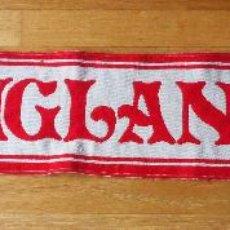 Coleccionismo deportivo: BUFANDA SCARF SELECCION INGLESA, ENGLAND VINTAGE FUTBOL. Lote 85137324