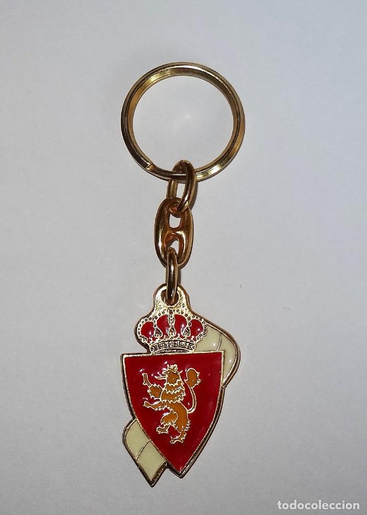 ZARAGOZA CAMPEON DE EUROPA RECOPA 1995 LLAVERO CONMEMORATIVO (Coleccionismo Deportivo - Merchandising y Mascotas - Futbol)